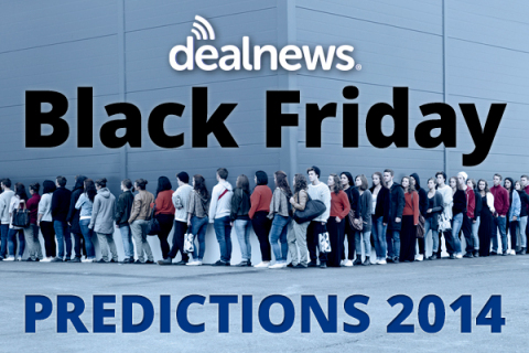 DealNews 2014 Black Friday Predictions (Graphic: Business Wire)