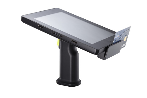 Lightweight, ergonomic and versatile, the Posiflex MT-4008W is the perfect companion for both mobile retailing and hospitality. (Photo: Business Wire)