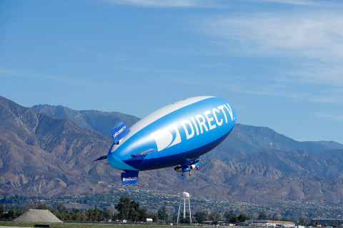 DIRECTV Blimp Makes Its First Trip Out West (Photo: Business Wire)