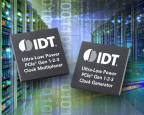 IDT Extends PCIe Timing Leadership with 1.5V Extensions to SoC-Friendly Ultra-Low-Power Clock Family. (Graphic: Business Wire)