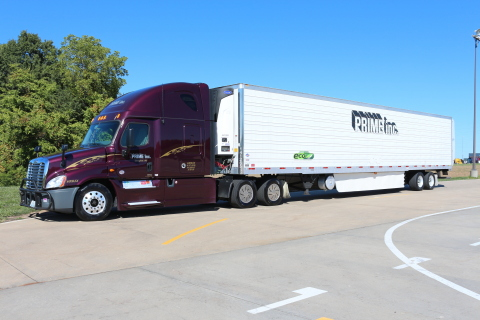 Prime Inc.'s Utility 3000R Refrigerated Trailer (Photo: Business Wire)