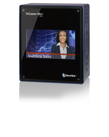 TriCaster Mini from NewTek (Photo: Business Wire)