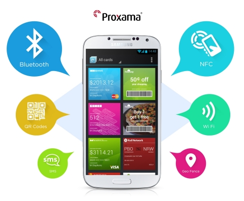 Proximity commerce pioneer Proxama brings expertise to the U.S. and Canada (Graphic: Business Wire)