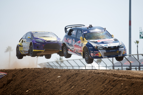 Red Bull Global Rallycross Photo credit: Larry Chen