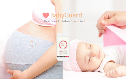 """The PRC team that created BabyGuard powered by Intel Edison, a prototype for expecting mothers and infants, is one of ten finalists vying for the $500,000 grand prize in the Intel """"Make it Wearable"""" challenge. (Photo: Business Wire)"""