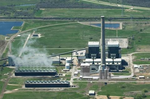 An artist rendition of the Northeastern power station project for American Electric Power (photo courtesy of AEP)