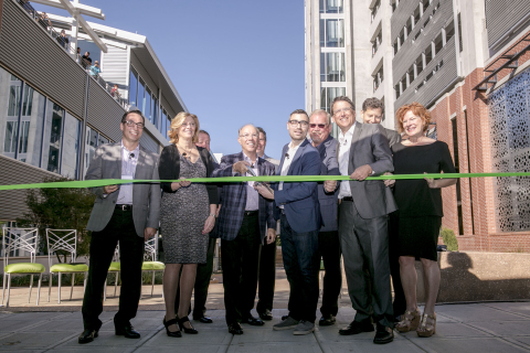 New Citrix Raleigh building grand opening and ribbon-cutting ceremony (pictured left to right): Stev