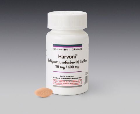 Harvoni Product Photo