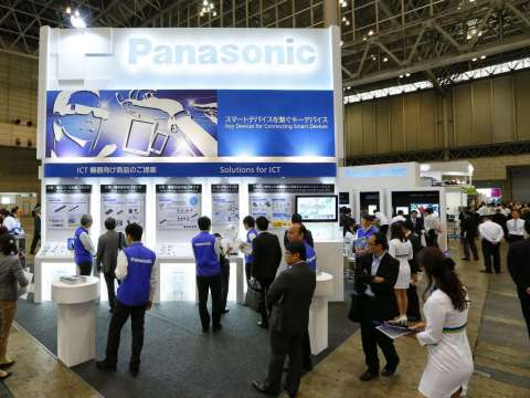 Panasonic Booth at Key Technology Stage in CEATEC JAPAN 2014 (Photo: Business Wire)