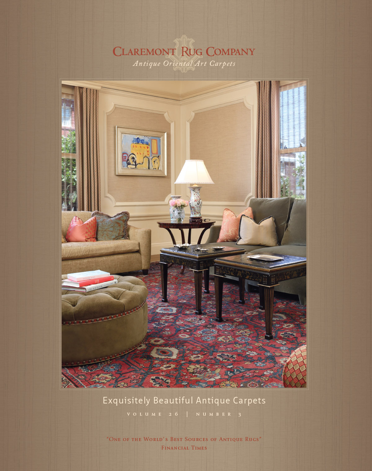 stunning claremont rug company catalog highlights second golden age