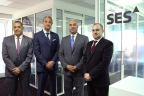 Hussein Oteifa, General Manager, Middle East, Olivier Molhant, Senior Sales Manager Ramsey Khanfour, General Manager, Business Development Jan Hanna, Senior Sales Engineer (Photo: Business Wire)