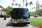 Newest green buses help protect Honolulu's treasured environment (Photo: BAE Systems).