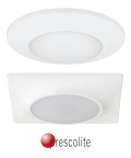 Prescolite's LBSLEDA is a versatile commercial LED downlight available in both round and square versions.