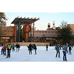 Southern California's largest outdoor ice rink at Viejas Outlets near San Diego. (Photo: Business Wire)