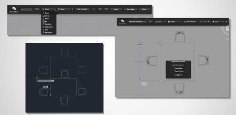 With AutoCAD 2015, Mac users can now make and edit dynamic blocks. (Graphic: Business Wire)