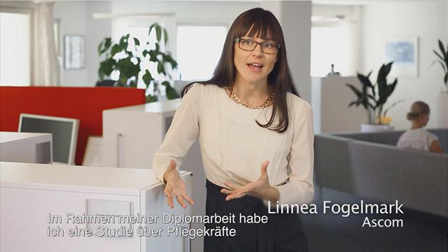Video in German Ascom Myco - Inspired by nurses.