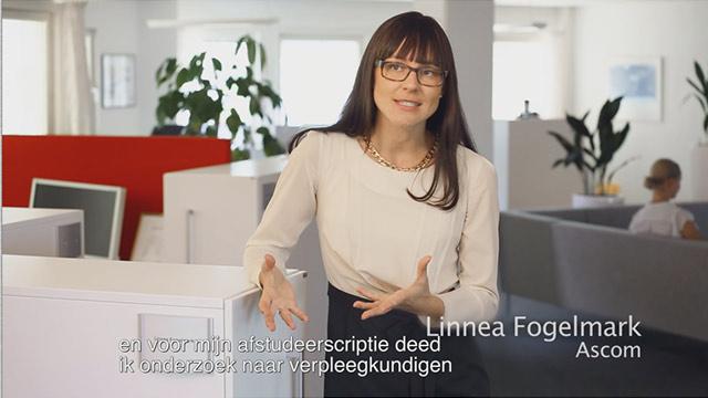 Video in Dutch Ascom Myco - Inspired by nurses.