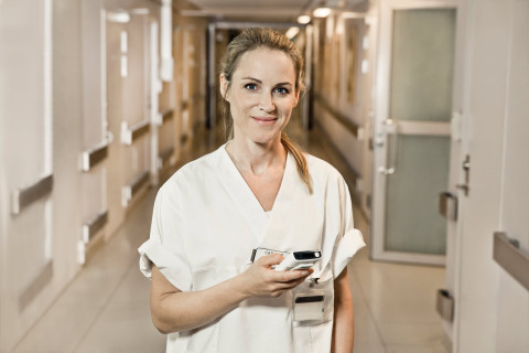 Ascom Myco - at the heart of care. (Photo: Business Wire)
