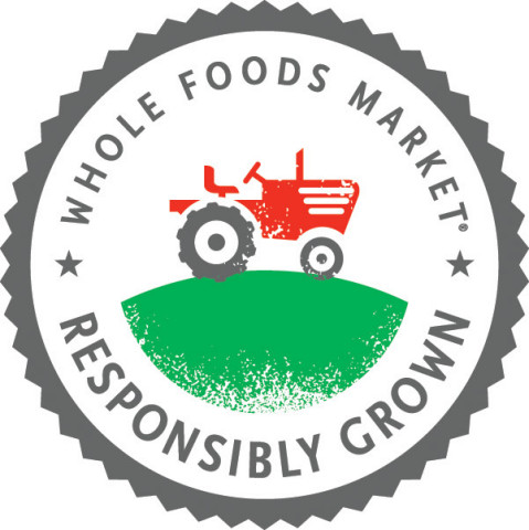 """Whole Foods Market's Responsibly Grown produce rating system logo labels fresh fruits, vegetables and flowers as """"good,"""" """"better"""" or """"best"""" to help shoppers make more informed choices in the produce and floral departments. (Graphic: Business Wire)"""