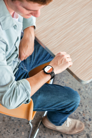 Citrix GoToMeeting for Android Smartwatches. (Photo: Business Wire)