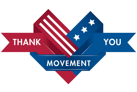 Help us help veterans by visiting ThankYouMovement.com. (Graphic: Business Wire)