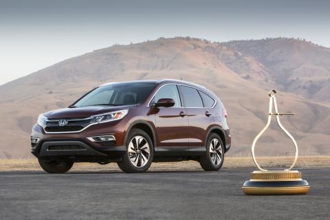 Honda CR-V Named 2015 Motor Trend Sport/Utility Of The Year