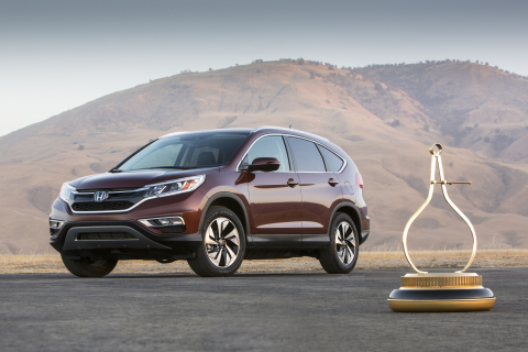 Honda CR-V Named 2015 Motor Trend Sport/Utility Of The Year