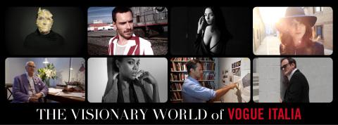 Peroni Nastro Azzurro celebratesThe Visionary World of Vogue Italia exhibtion still (Photo: Business Wire)