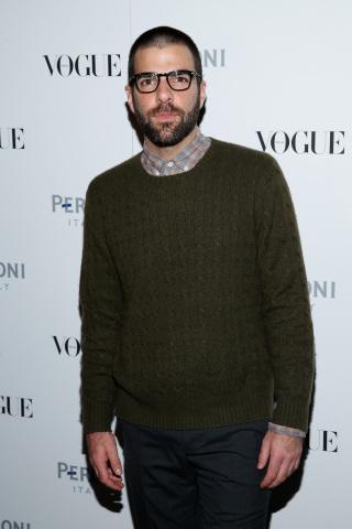 Zachary Quinto at Peroni Nastro Azzurro Celebrates The Visionary World of Vogue Italia (Photo: Business Wire)