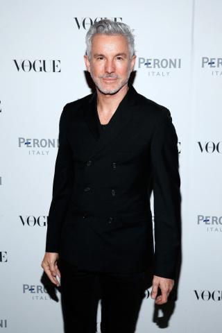 Baz Luhrmann at Peroni Nastro Azzurro celebrates The Visionary World of Vogue Italia (Photo: Business Wire)