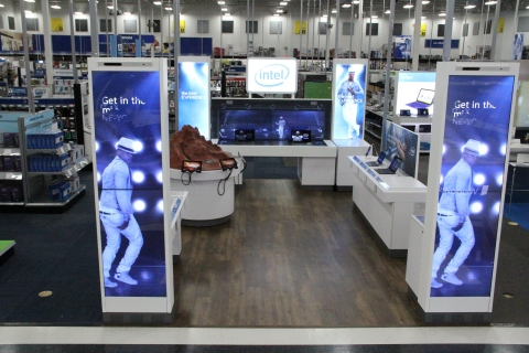 The Intel Experience provides a hands-on experience for Best Buy shoppers to try, explore and play with the latest, cutting-edge technologies like 3-D printing, gaming meets augmented reality, and digital disc jockey (DJ) remixing. (Photo: Business Wire)