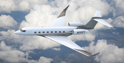 Gulfstream G650, one of the aircraft included in Flexjet's historic purchase from Gulfstream announced today. (Photo: Business Wire)