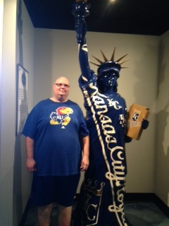 Kansas City resident Chris Dorrell before his more than 100 pound weight loss.