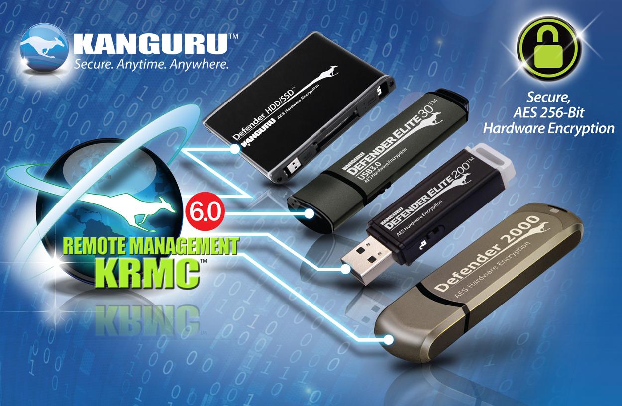 Kanguru Remote Management for Secure USB Drives Offers Complete ...