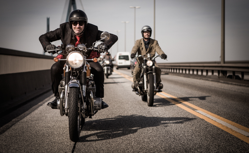 Delticom Europe S Gentleman Bikers Show Heart They Answer An