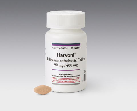 Harvoni Product Photo (Photo: Business Wire)