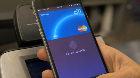 MasterCard Apple Pay (Photo: Business Wire)