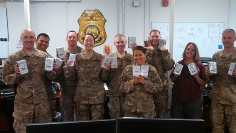 Books-A-Million shows support and appreciation to the U.S. Troops through their Coffee for Troops ca ...