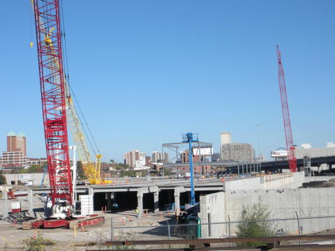 IKEA, the world's leading home furnishings retailer, today announced that steel erection is underway as part of the construction of its future St. Louis store. (Photo: Business Wire)