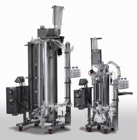 The Thermo Scientific HyPerforma Single-Use Fermentor (S.U.F.) is the first single-use system specifically engineered for microbial fermentation and designed to scale up from the lab to GMP production. (Photo: Business Wire)
