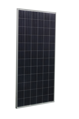 The new S Series solar photovoltaic module by Hanwha SolarOne features a slimmer frame which reduces material and shipping costs, a four busbar design yielding more efficient energy production and industry leading weak light and high temperature performance. The 72 cell HSL 72S module is seen here. (Photo: Business Wire)