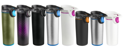 CamelBak Forge is available nationwide in two sizes, 16 ounces and 12 ounces, MSRP $30 and $29 respectively. (Photo: Business Wire)