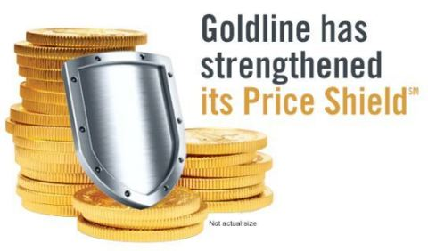 Goldline has strengthened its Price Shield (Photo: Business Wire)