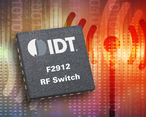 IDT Introduces Radio Frequency Switch with Ultra-High Isolation and Linearity (Graphic: Business Wire)