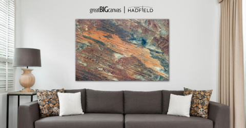 Colonel Chris Hadfield's Incredible Space Photography now Available on GreatBIGCanvas.com (Photo: Business Wire)