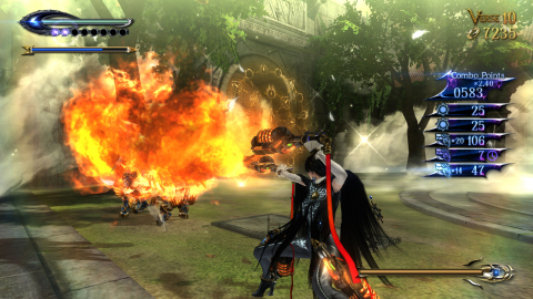 Fans of the original Bayonetta game know that the series delivers some of the most intense action, massive set pieces, gorgeous graphics and slick controls of any video game series out there. (Photo: Business Wire)