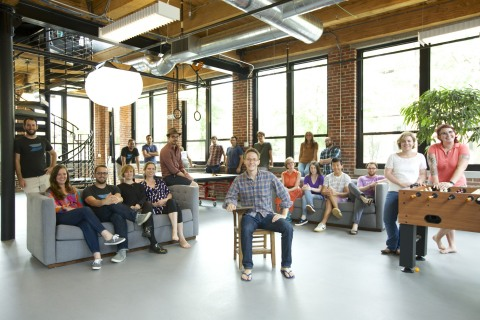 Wistia innovates video hosting for businesses in their Cambridge, Mass. office. (Photo: Wistia)