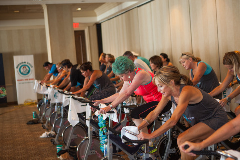 The Newk's-sponsored Ovarian Cycle event in Jackson, Miss. set the record for the single largest first-time fundraising event in OCRF's 26-year history. (Photo: Business Wire)