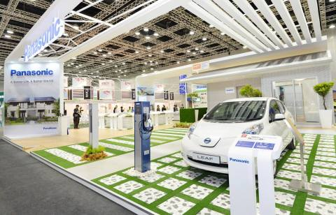 At IGEM 2014, Panasonic visualizes the company's vast experiences and wide range of solutions for the individual, the home and the town. (Photo: Business Wire)