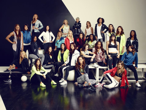 Nike unveiled its Spring/Summer 2015 Women's Collection in New York City today with 27 of the world'